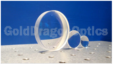 氟化钙(CaF2)平凸球面透镜