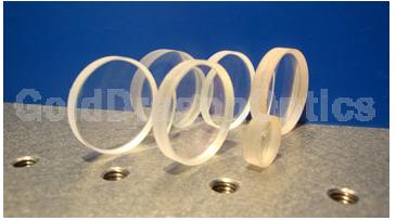 氟化钙(CaF2)平凹球面透镜