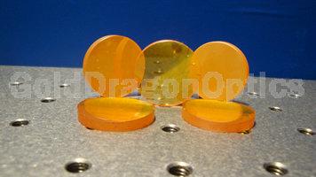 硒化锌(ZnSe)平凸球面透镜