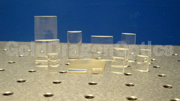 紫外熔石英(JGS1)平凸柱面透镜
